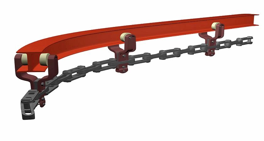 Конвейер подвесной каретка транспортер чебоксары